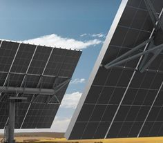 The Nectar  has designed the world's largest pedestal-mounted solar panel power system.