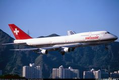Swissair HB-IGC Boeing 747-357M aircraft picture