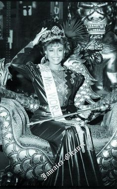 Giselle Laronde (Trinidad and Tobago) Miss World 1986