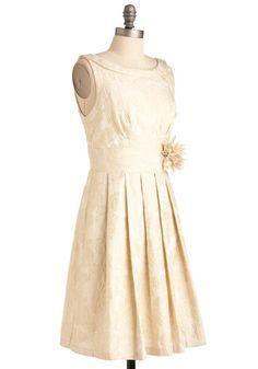 Gilding Light Dress, #ModCloth