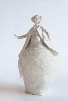 sculpture de papier PAPIER A ETRES j'adore cette pureté poétique