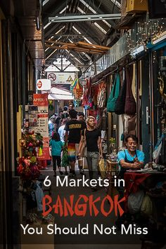 Bangkok has some of the best and biggest markets in the world. So how to decide what Bangkok market to visit? Here is 6 of our favourite markets in Bangkok! Bangkok Market, Thailand Shopping, Thailand Vacation, Visit Thailand, Phuket Thailand, Bangkok Krabi, Bangkok Itinerary, Bangkok Travel, Asia Travel