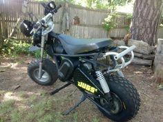 Custom Mini Bike, Vintage Bikes, Bike Trails, Scooters, Atv, Motorcycle, Toys, Vehicles, Projects