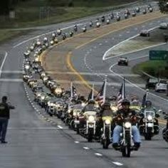 Patriot guard riders I am proud to have had opportunities to pull my car to the side of the Texas roadways to stand with my fellow Texas while the patriot guard escorted another young soldier home.