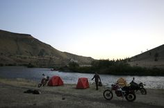 Moto camp trip... where i want to be
