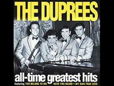 The Duprees - My Love My Love - YouTube