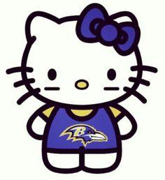 Baltimore Ravens Hello Kitty
