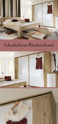 Exklusives Komplett-Schlafzimmer mit edlen Glas-Elementen.   Betten ...