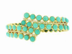 luxury lust.  Irene Neuwirth Bracelet... yours for only $28180.00