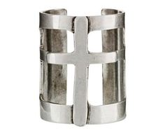 Pamela Love | Cross Cuff in Bracelets Cuffs at TWISTonline