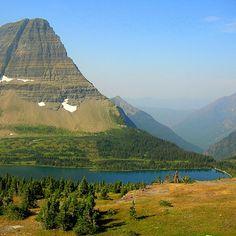 hidden lake in glacier park