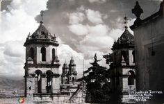 Fotos de Morelia, Michoacán, México: CONJUNTO DE TORRES Hacia 1945