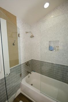 Secondary Bathroom - eclectic - bathroom - los angeles - Stonebrook Design Build