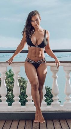 onlyrippedgirls: Ripped Girls 🔥🔥🔥🔥 – Fit and Sexy Sexy Bikini, Bikini Girls, Black Bikini, Bikini Azul, Fit Women, Sexy Women, Sexiest Women, Hot Girls, Girls Fit