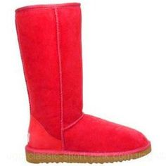 Red Uggs (Tall)