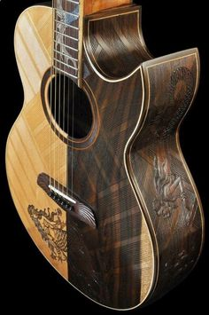Guitar Playing And What It Takes To Get Good. Are you in love with music, but aren't able to play any instruments? Custom Acoustic Guitars, Best Acoustic Guitar, Guitar Art, Custom Guitars, Music Guitar, Cool Guitar, Fender Acoustic, Ukulele, Guitar Photography