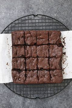 These are the BEST gluten free brownies we've ever tried. Fudgy, rich, and delicious! sub sugar, add baking powder