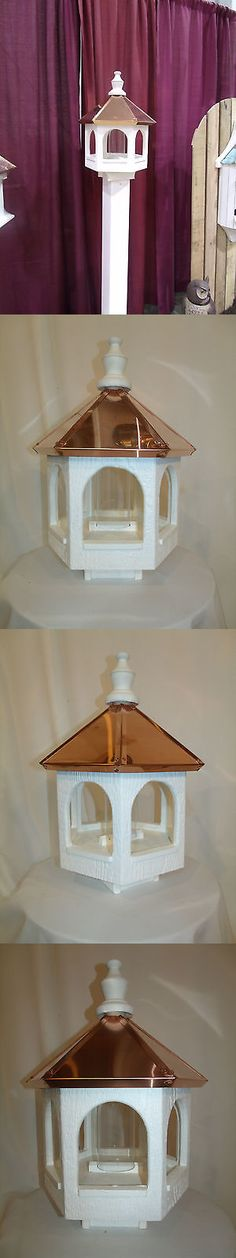 Seed Feeders 42350: Copper Top Roof Bird Feeder Amish Made In Usa X-Large 21 Inches Tall 14 Wide -> BUY IT NOW ONLY: $149.99 on eBay!
