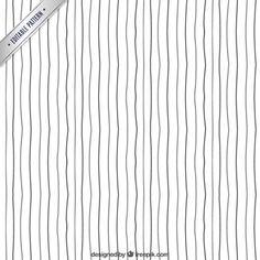 patrón de líneas dibujadas a mano Vector Gratis