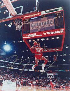 Air Jordan signed