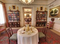 A new virtual tour of Prince Charles' London residence gives fans a rare glimpse into royal life English Interior, Clarence House, Royal Residence, Royal Life, Interior Decorating, Interior Design, Small Dining, Prince Charles, Upholstered Furniture