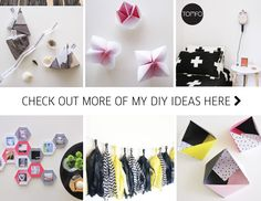 We've got another party on this week and I thought I'd share somecute wrapping ideas with you (+ a super easy tutorial on how to make this gorgeous triangle box.) I make up lots…