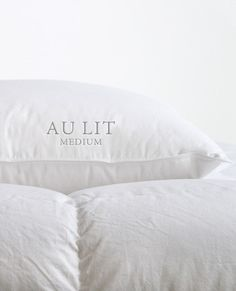 Au Lit Fine Linens | White Goose Down Duvets - Au Lit Fine Linens