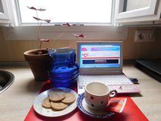 Fotografía de mi desayuno.