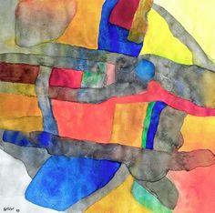 """Морис Эстев (фр. Maurice Estève; 2 мая 1904, Кюлан, департамент Шер – 21 июня 2001, там же). """"Абстракционизм - abstract art"""" в социальных сетях - http://www.1abstractart.com/---abstract-art"""