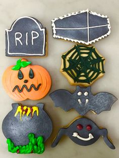 Halloween shortbreads #pitchounbakery