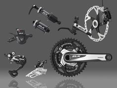 Shimano SLX M670 Triple 10 Disc Brake Groupset | Groupsets - MTB | Merlin Cycles