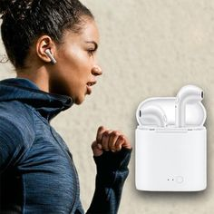 GETIHU Bluetooth Earphone Headphones For Apple iPhone X Wireless Earph - chicmaxonline Iphone Headphones, Bluetooth Earbuds Wireless, Sport Earbuds, Sports Headphones, Ear Phones, Gaming Headset, Apple Iphone, Sony, Accessories