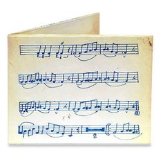 Dynomighty Music Sheet Bi-Fold Mighty Wallet