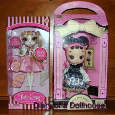 Celli Cat No 4 Petit Blue and Pinky Cooper dolls