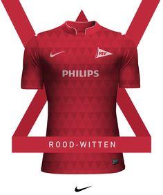 Em coleção, designer recria camisas de times da Nike