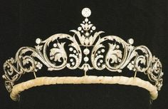 This tiara is now owned by Sarah, The Duchess of York. It was purchased from Garrard's and given to Sarah upon her marriage to Prince Andrew.