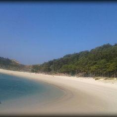 Islas cies #Galicia #paradise #beach