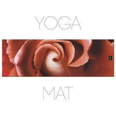Rose Yoga Mat Floral Pilates Mat Yoga Accessory Floral Pilates Mat, Yoga Accessories, Yoga Mats, Rose, Floral, Florals, Pink, Roses, Flowers