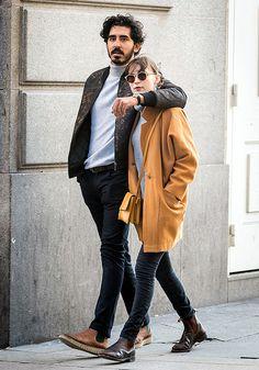 Dev Patel y Tilda Cobham-Hervey pasean su amor por Madrid Dev Patel, Jewish Men, Mumbai, Arab Men, Stylish Boys, Men Looks, Beautiful Boys, Celebrity Crush, Urban Fashion