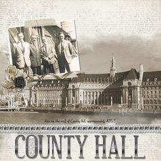 County Hall - Heritage Family - Gallery - Scrap Girls Digital Scrapbooking Forum