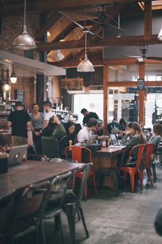 Rustic coffee shop decoration ideas 97 - Savvy Ways About Things Can Teach Us Rustic Coffee Shop, Coffee Shop Design, Coffee Cafe, Cafe Design, Coffee Shops, Coffee Tin, Cafe Bar, Cafe Shop, Restaurant Design