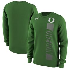 Oregon Ducks Nike Momentum Pack Long Sleeve T-Shirt - Green
