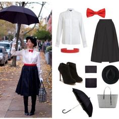 Mary Poppins Outfit Picture last minute costume mary poppins diy halloween costumes Mary Poppins Outfit. Here is Mary Poppins Outfit Picture for you. Mary Poppins O. Mary Poppins Outfit, Mary Poppins Kostüm, Mary Poppins Halloween Costume, Candy Costumes, Diy Costumes, Costume Ideas, 90s Costume, Zombie Costumes, Homemade Costumes