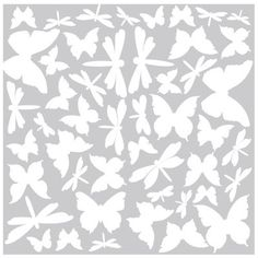 New RoomMates RMK1706SCS Butterfly and Dragonfly Glow in The Dark Wall Decals | eBay