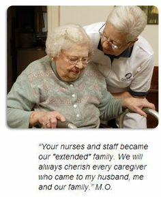 We're Proud to Let Our Clients Speak For Us The compassion and personal attention we provide at Central Penn Nursing Care does not go unnoticed by our clients and their families. Their testimonials are a true reflection of the strong reputation and personal relationships we've built over the past several decades.