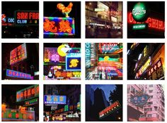 Hong Kong neon (screenshot from neonsigns.hk by the author)