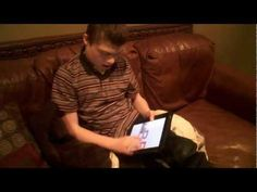 This is a short clip of our son Nathan using the iPad on his own. He was born with Angelman Syndrome. Using the iPad is one of his very favorite activities -. Angelman Syndrome, Seizures, Special Needs, Pediatrics, Things To Think About, Therapy, Ipad, Healing, Tools