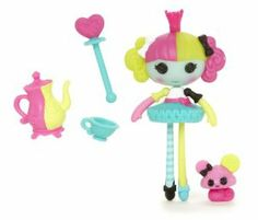 Lalaloopsy Mini Lala Oopsie Princess Saffron Doll by Lalaloopsy. $8.99. Moveable arms, legs and head. Comes with a pet. Totally collectible. Lala-Oopsie themed. From the Manufacturer                Experience the magical world of the Lala-Oopsie Princess ballerinas in Mini Scale. Lala-Oopsie themed. Moveable arms, legs and head.                                    Product Description                The Princess of hugs is warm and caring and loves making treats fo...