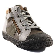 332A LOUP BLANC DOYAN KAKI www.ouistiti.shoes le spécialiste internet de la chaussure bébé, enfant, junior et femme collection automne hiver 2015 2016