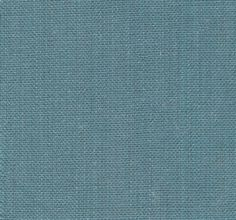 Serafina Linen Fabric - Heavy weight strie linen mix fabric fabric with antiqued finish in teal